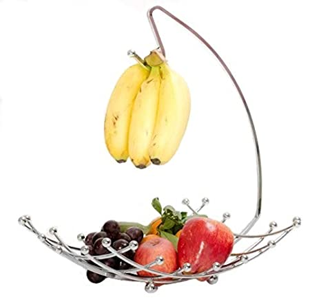 Amazon.com   Fruit Basket with Banana Holder, Luxe Premium\'s Fruit ...
