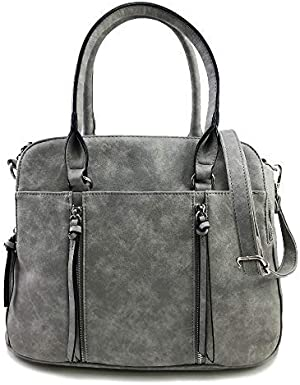 f0333bdc1edd Violet Ray Logan Satchel. This cool handbag is perfect for every season.  Right on trend