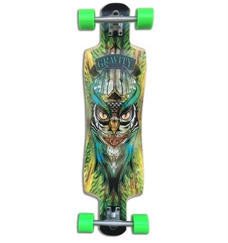 Gravity 38 Twin Kick Midnight Thief Complete Longboard by Gravity B00XUVGT7Y