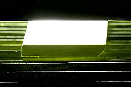 14mm de grosor Tiras de 1,10 metros lineales 10, 8 cm Rodapi/é lacado en blanco hidr/ófugo de canto recto