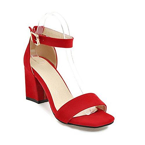35 Eu red Rosso Donna Ballerine Sconosciuto 1to9 qwTg7nA