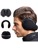 WeiMeet 4 Pieces Unisex Fleece Earmuffs...