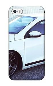 Hazel J. Ashcraft's Shop 2951885K57519328 Flexible Tpu Back Case Cover For Iphone 5/5s - White Wolkswagen Golf WANGJING JINDA