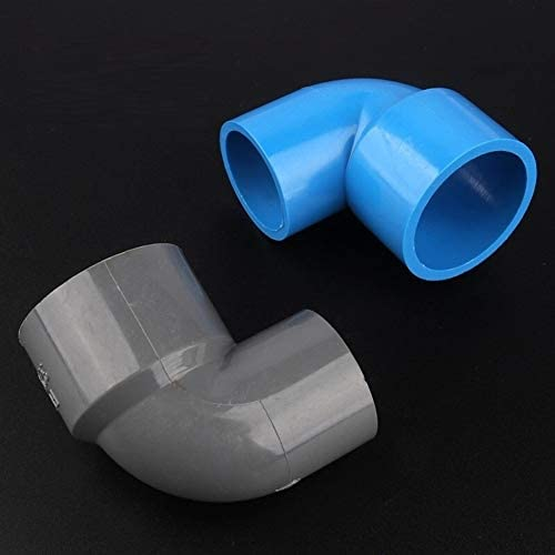 MOLIBAIHUO 50pcs/lot 32 25mm To 25 20mm PVC Reducing Elbow Joints Aquarium Fish Tank Agricultural Irrigation Garden Water Pipe Connectors,Blue Reducing Connectors (Size : 25 20mm)
