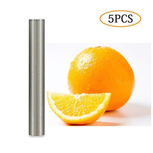 Essential Oil Replenishing Pods,Personal Aromatherapy Inhaler for J-U-U-L,4 Pcs (Fruit Taste)