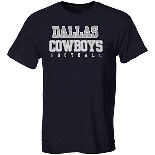 Dallas Cowboys Tee Shirts (Dallas Cowboys Youth Short Sleeve Navy Practice T-Shirt)