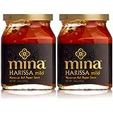 Mina Harissa Moroccan Red Pepper Sauce, Mild, 10 Oz (Pack of 2)