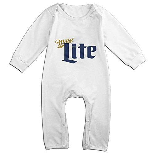 cute-miller-lite-beer-vintage-climbing-clothes-for-baby-white-size-6-m