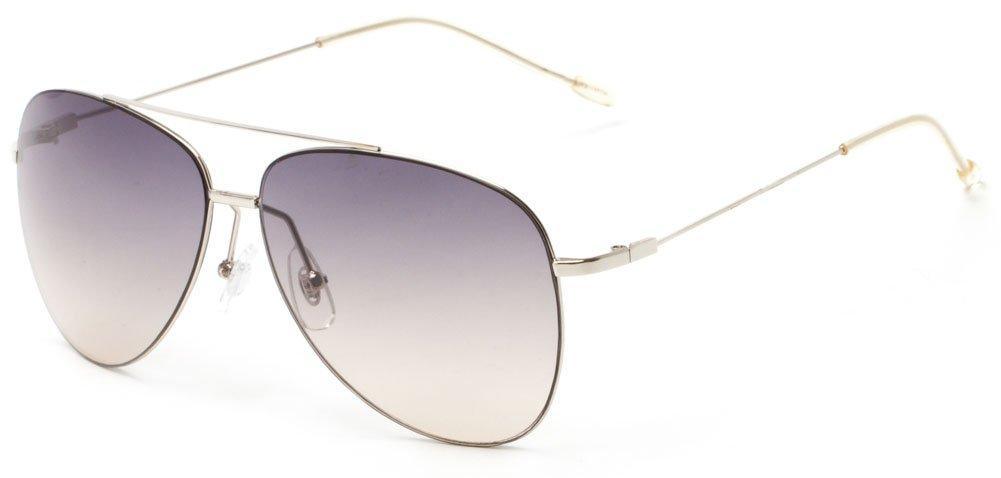 Sunglass Warehouse | Scoresby Polycarbonate Aviator Men's & Women's Full Frame Sunglasses
