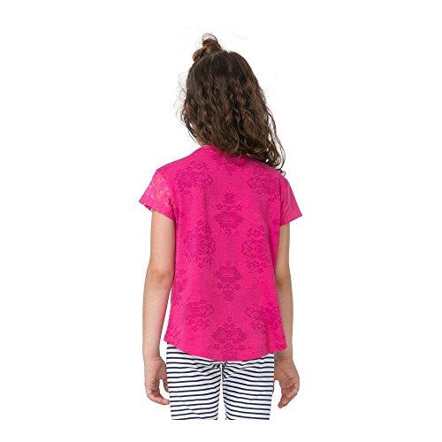Violet Fille Desigual shirt Purple Oklahoma 71t30d5 T Potion wqtrqY