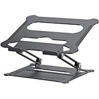 Adjustable Laptop Stand,Suturun Portable Laptop Computer Stand Rriser&Multi-Angle Stand with Heat-Vent to Elevate Laptop…