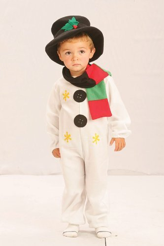 Amazon.com: Childrens Snowman Fancy Dress Costume Christmas Frosty ...