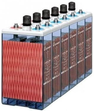 Batería estacionaria 6 x 12 OPzS 1500 MASTER BATTERY 12V 2250Ah C100