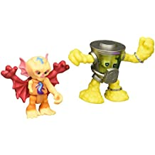 Teenage Mutant Ninja Turtles Pre-Cool Half Shell Heroes Kirby Bat and Mutagen Man Figures