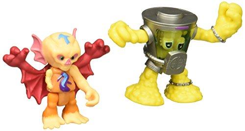 Half Bat (Teenage Mutant Ninja Turtles Pre-Cool Half Shell Heroes Kirby Bat and Mutagen Man Figures)