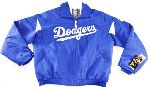 Los Angeles Dodgers Authentic Triple Peak Premier Jacket By (Majestic Dodgers Jacket)