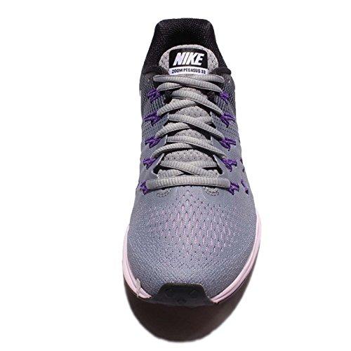 Nike Femmes Air Zoom Pegasus 33 Furtif / Blanc-noir-firece Violet