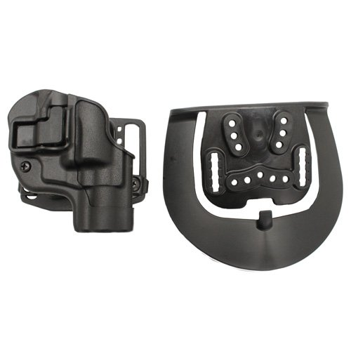 BLACKHAWK! SERPA Concealment Holster - Matte Finish, Right Hand, (S&W J-Frame .38 Cal. 2-inch & Under) - - Pants Medium Holster Frame