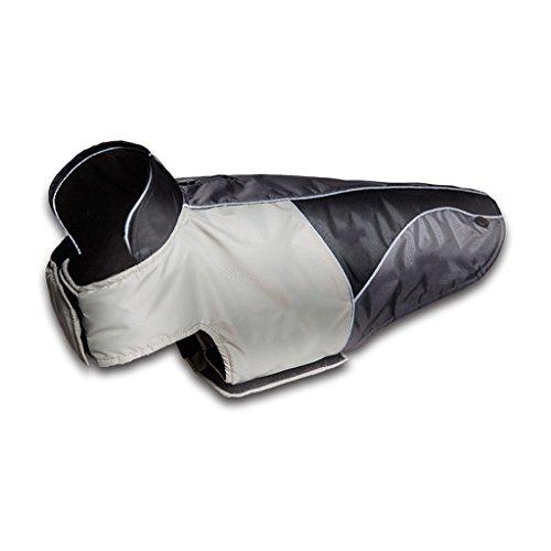 - LANA Pet Jackets, Thicken, Plush, Dog Clothes, Dog Warmer, Golden Retriever, Rado, Jackets (Color : Grey, Size : XXL)