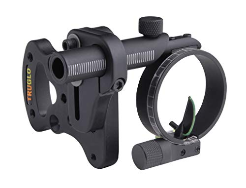 Sight Bow Tru (TRUGLO Pendulum Series Ultimate Treestand Bow Sight, Fixed Bracket)