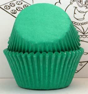 Golda's Kitchen Baking Cups - Solid - Green - Mini
