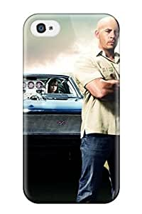 Sanp On Case Cover Protector For Iphone 4/4s (fast & Furious)