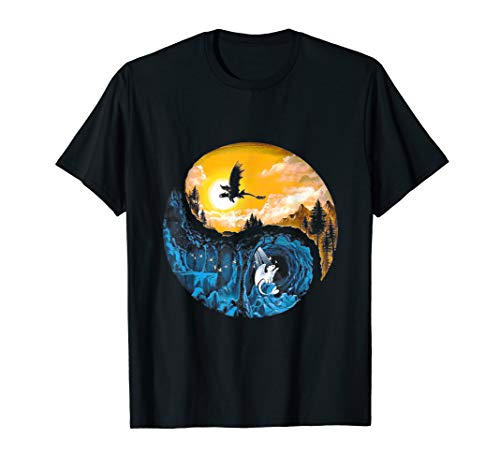 Couple Dragon Tshirt How To Train Your The Dragon ()