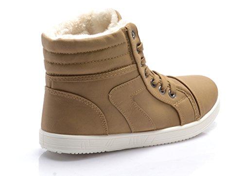 Invernali Camel Da Dal Donna Al Sneaker Disponibili Interno 36 42 Pelliccia Con Lacci Numeri Rivestimento TdSx4xawq