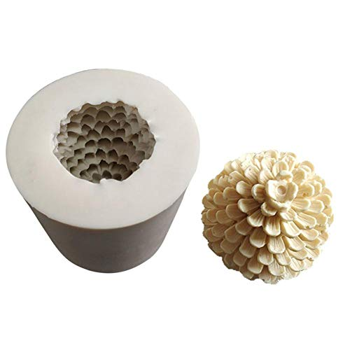 (Micro Lock - 3d Pine Cones Christmas Tree Silicone Soap Mould Mold Molds Chocolate Cake Decoration - Holiday Candle Flowers Skep Cylinder Sealet Pillar Supplies Unicorn Molds Making Seal)