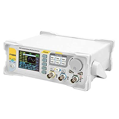 Signal Generator, 0-20 MHZ 2.4in TFT Screen Signal Generator Counter High Precision Multi-Functional Digital DDS Function Arbitrary Waveform Signal Generator Frequency Meter 250MSa/sgn(US)
