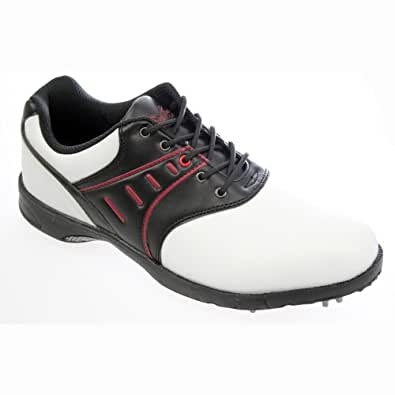 Confidence 2012 Golf Shoes White/Black Mens 7