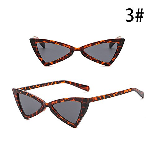 de Anti Exterior Personalidad Gafas Triángulo de UV Accesorios Moda Vintage de C Sol de Retro ZHANGYUSEN G Mujeres Gafas la 6T5wTFx
