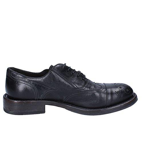 Chaussures Lacets Pour De Moma Ville Homme Noir À dwqUyBT