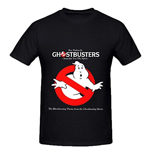 ghostbusters-ray-parker-jr-tracks-mens-o-neck-slim-fit-tee-shirts-black