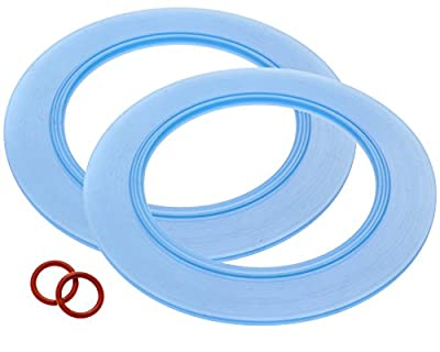 2-Pack of American Standard-Compatible Canister Flush Valve Seal Kit Replacements For Toilets (Equivalent to 7301111-0070A)