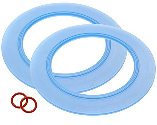 2-Pack of American Standard -Compatible Canister Flush Valve Seal Kit Replacements For Toilets (Equivalent to Parts # 7301111-0070A / 7301111 0070A) ()