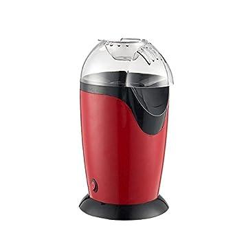 Wiiguda@Palomitero portátil, Palomitero Máquina de Palomitas de Maíz Portátil, Con aire caliente sin grasas ni aceites.: Amazon.es