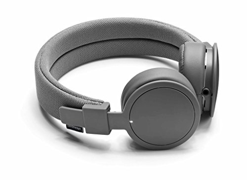 Urbanears Plattan ADV Wireless On-Ear Bluetooth Headphones, Dark Grey (4091099)