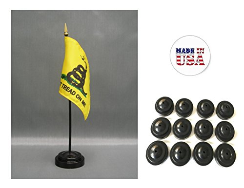 (Made in the USA!! Box of 12 Gadsden Historical Flag 4