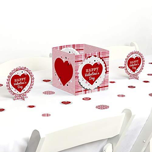 Big Dot of Happiness Conversation Hearts - Valentine's