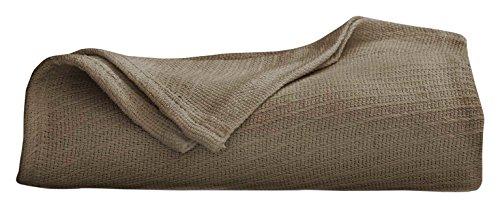 Martex Cotton Woven Blanket, Full/Queen, Pine ()