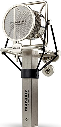 Marantz Professional MPM-3000 | Cardioid Condenser Microphone with Pop Filter, Shock Mount, & Carry Case (34mm / XLR Out)