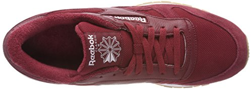 Hombre Zapatillas Leather Urban Rojo White Classic Para Reebok Maroon 000 Estl qwXx0tHU5