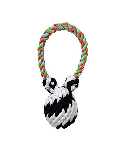 Super 8 Dog Tug - Small Rope Dog Toy | Small Super Scooch Squeaker Bear Rope Tug | 8 Inch | We Squeak! by Scoochie Pet Products