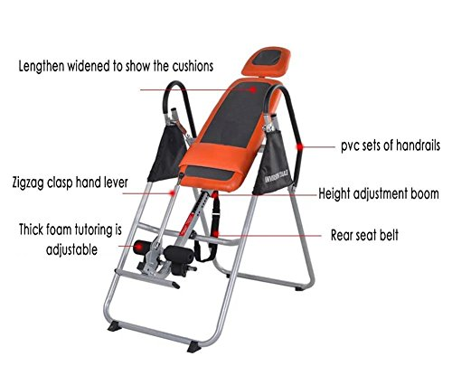 QAZSE Gravity Inversion Therapy Table, Fitness, Backache, Relieve, Relax, Abdomen, Increase, Stress Reliever by QAZSE (Image #2)
