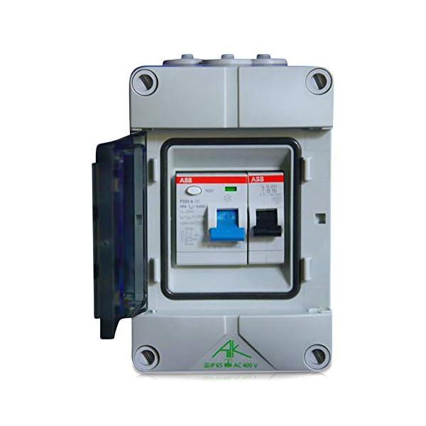 41mENd3geEL Elektro Sicherungskasten grenda-hammer® - Verteiler für Haus, Garten, Garage, Keller (Einbaugeräte ABB)