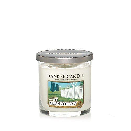 Yankee Candles Small Pillar Candle - Clean Cotton (Pack of 6) - ヤンキーキャンドルの小さな柱キャンドル - きれいな綿 (x6) [並行輸入品] B01N2JNVX9