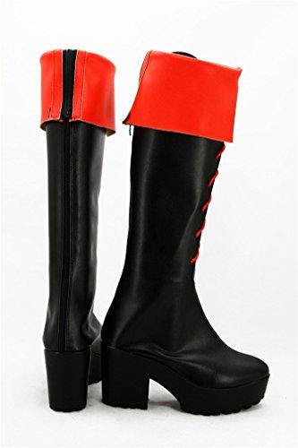 Bromeo Gintama Kagura Cosplay Chaussure Bottes Boots