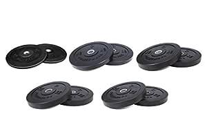 PowerMark - Discos Parachoques crossfit bumperplates conjunto ...
