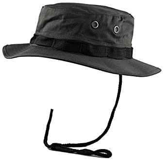91f4402f01770 THE HAT DEPOT 300N1516 Premium Quality Military Boonie Hat at Amazon ...
